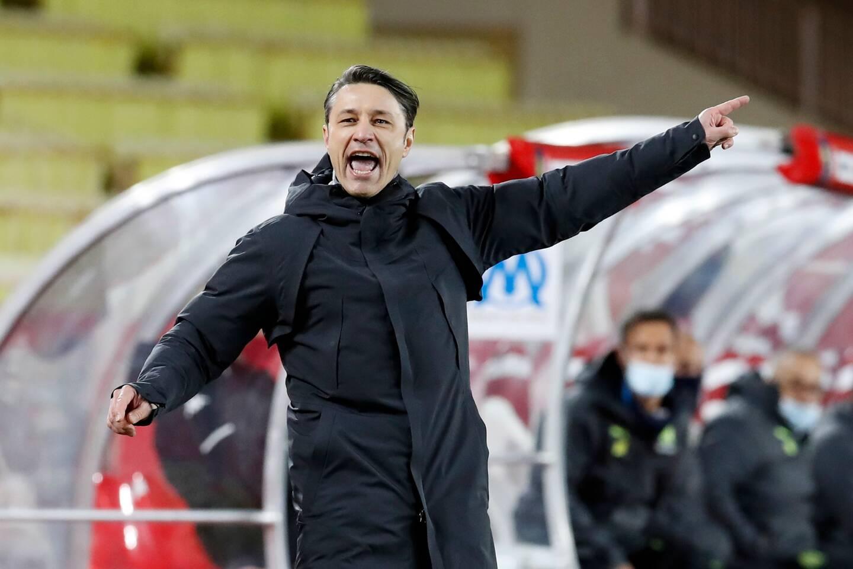 Niko Kovac, entraineur de l'AS Monaco
