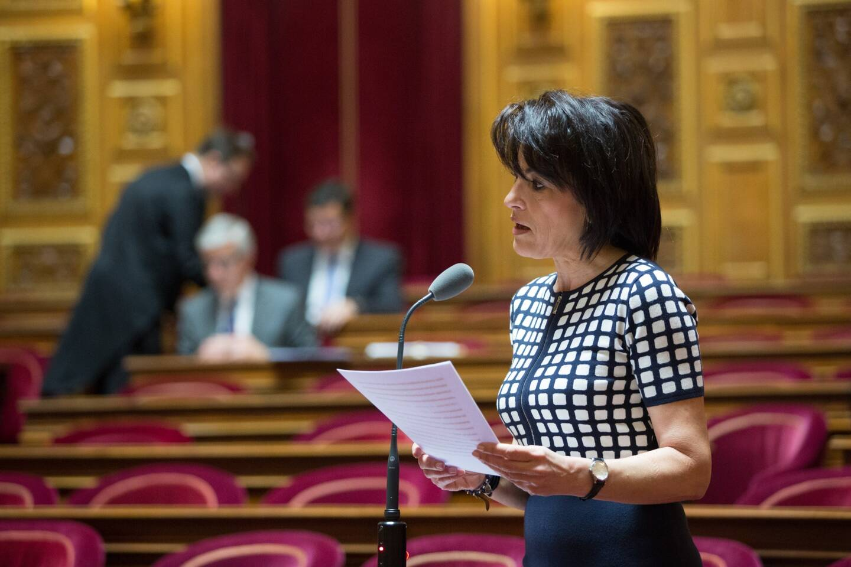 La sénatrice LR des Alpes-Maritimes, Dominique Estrosi-Sassone.