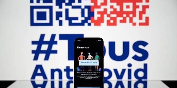 Le pass sanitaire pourrait être numérique via l'application #TousAntiCovid.