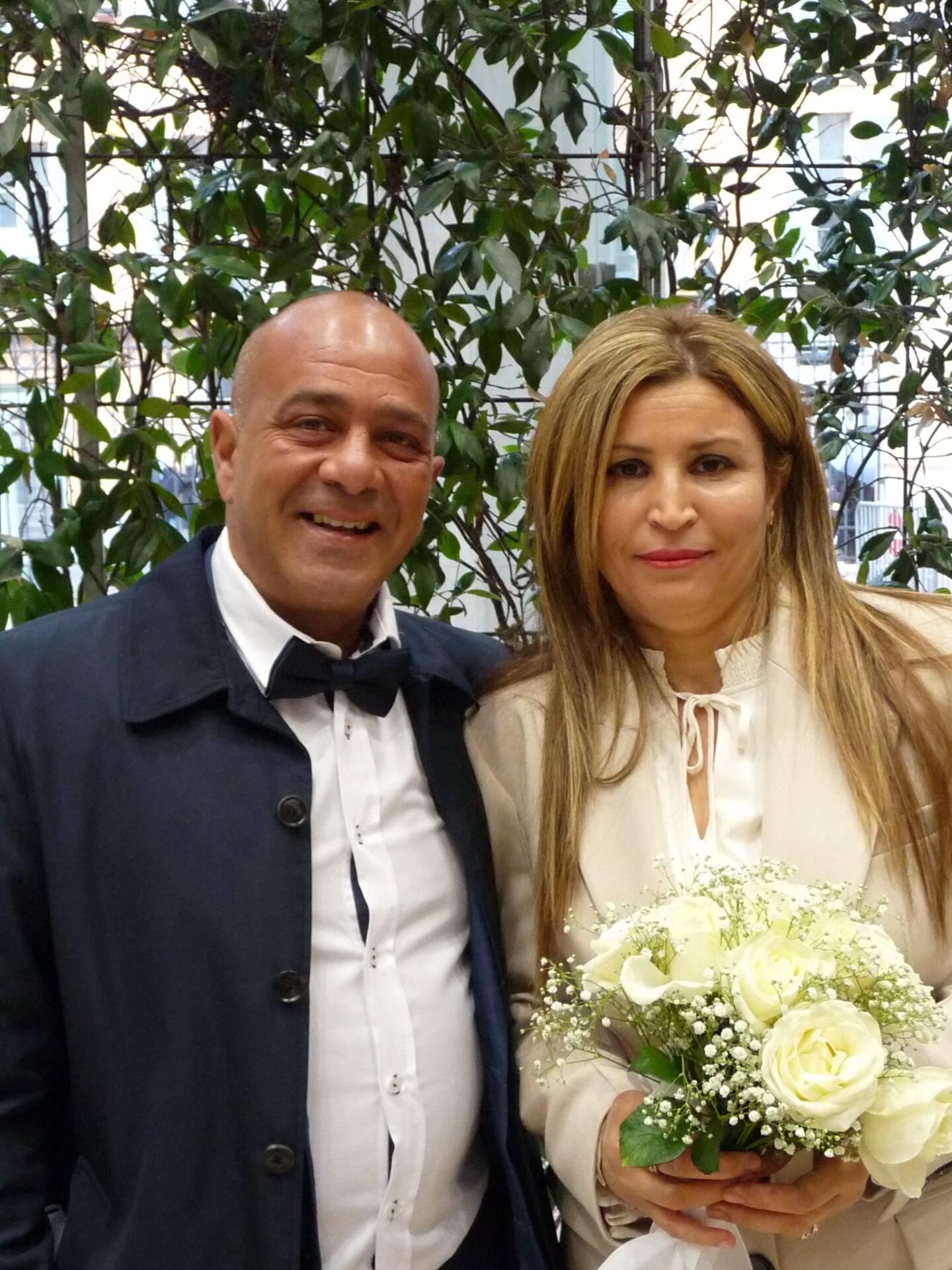 Mourad Yazidi, cuisinier, et Lamia Hammami, femme au foyer.