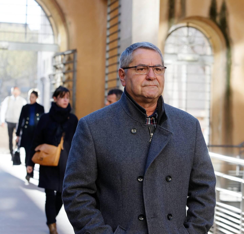 Pascal Fauret à son arrivée au Palais Monclar à Aix-en-Provence en 2019.