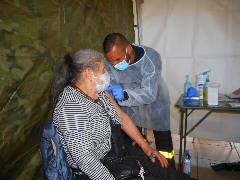 En deux jours, près deux cents seniors auront été vaccinés en la salle René Autran.