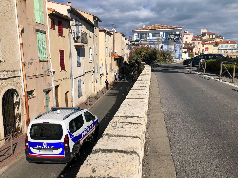 La rue de la Tourraque a été coupée à la circulation ce lundi.