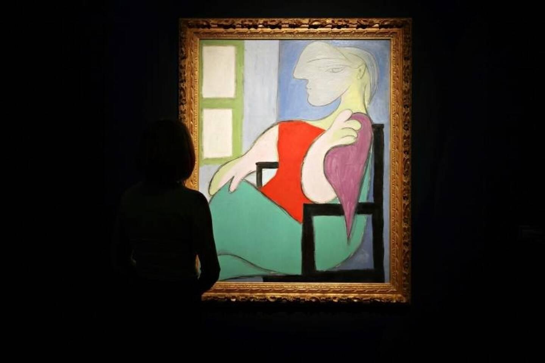 La toile a été adjugée plus de 100 millions d'euros.