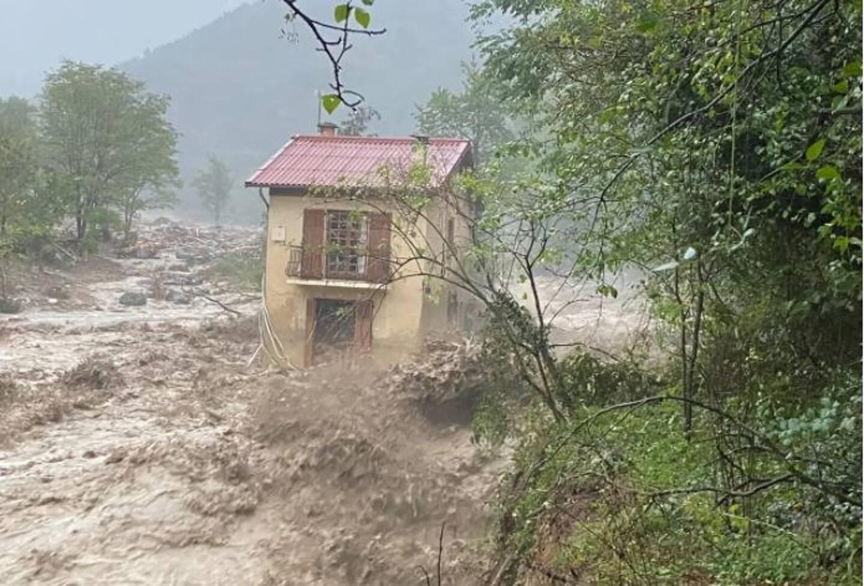 La maison des Borello avait été emportée par les flots.