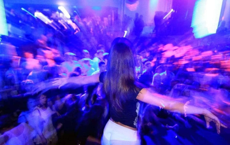 Illustration boite de nuit, discothèque, fête.