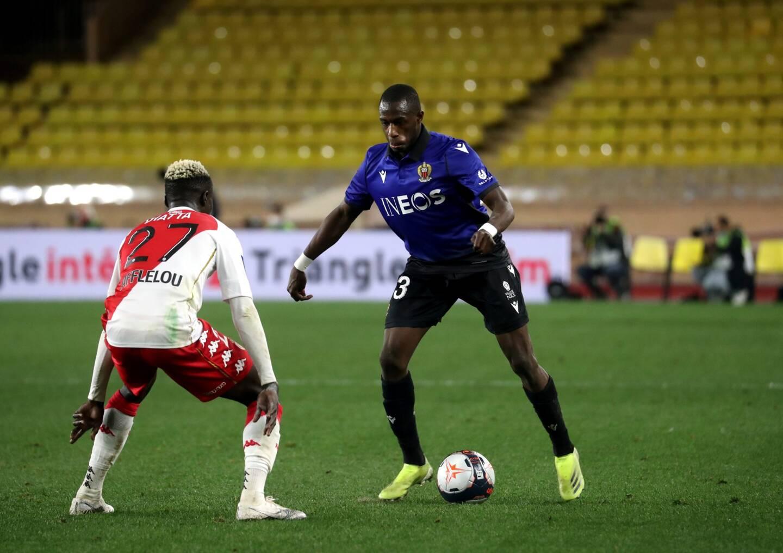 Hassane Kamara (à droite), face à l'AS Monaco.