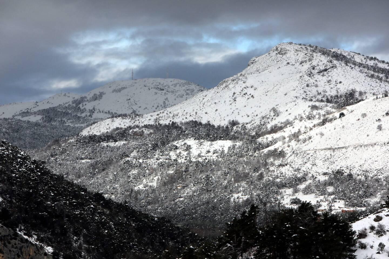 La neige sur le haut-pays grassois (image d'illustration).