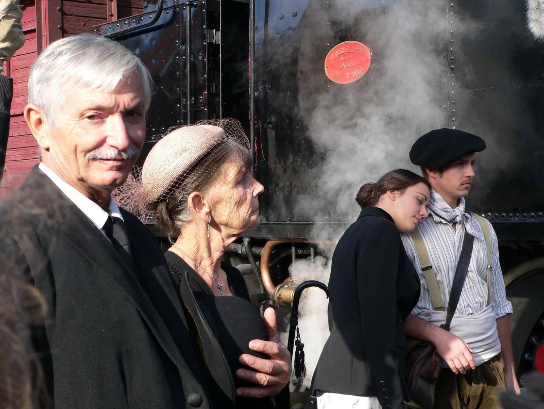 Le tournage du pilote a eu lieu à l'automne dernier avec des comédiens amateurs locaux. Jean-Louis Damon (en haut) et Eric Gudenkauf (en bas, à gauche) espèrent que ce court-métrage de 12 minutes séduira un producteur.