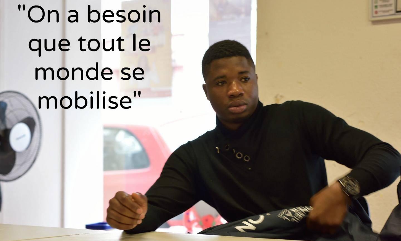 Djibril, médiateur scolaire à Nice-Nord.
