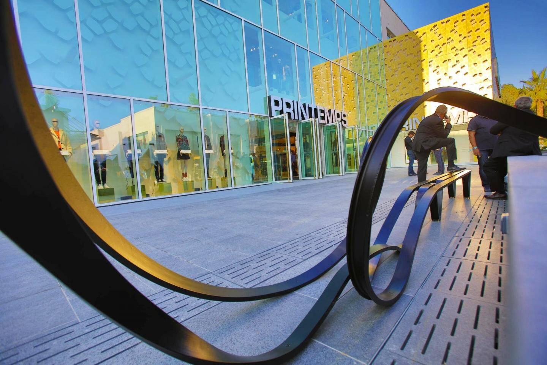 Le centre commercial a été inauguré le 21 octobre.