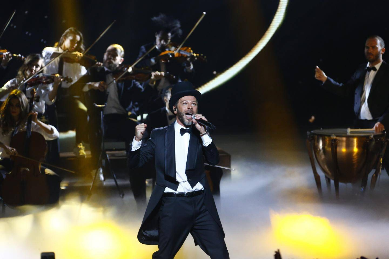 Ceremonie des NRJ Music Awards, le samedi 12 novembre 2016 au Palais des festivals de Cannes.Christophe Mae