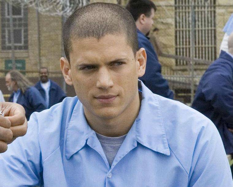 Wentworth Miller de la série Prison Break.