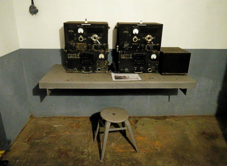 La salle radio.