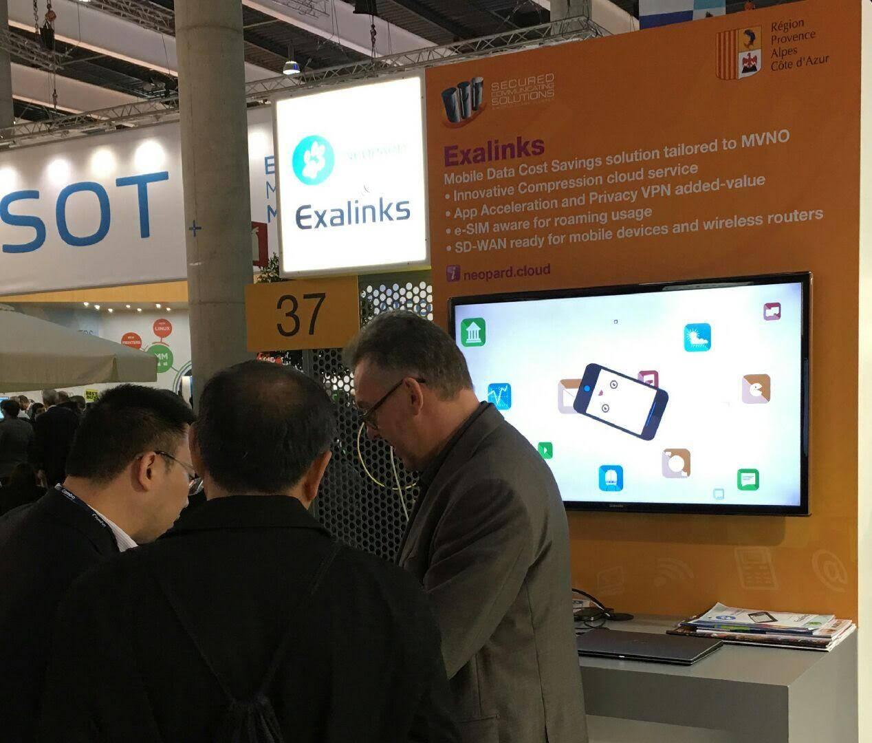 Exalinks édite des logiciels fournissant une solution d'économie de données pour les réseaux mobiles afin de réduire les coûts des opérateurs mobiles virtuels.