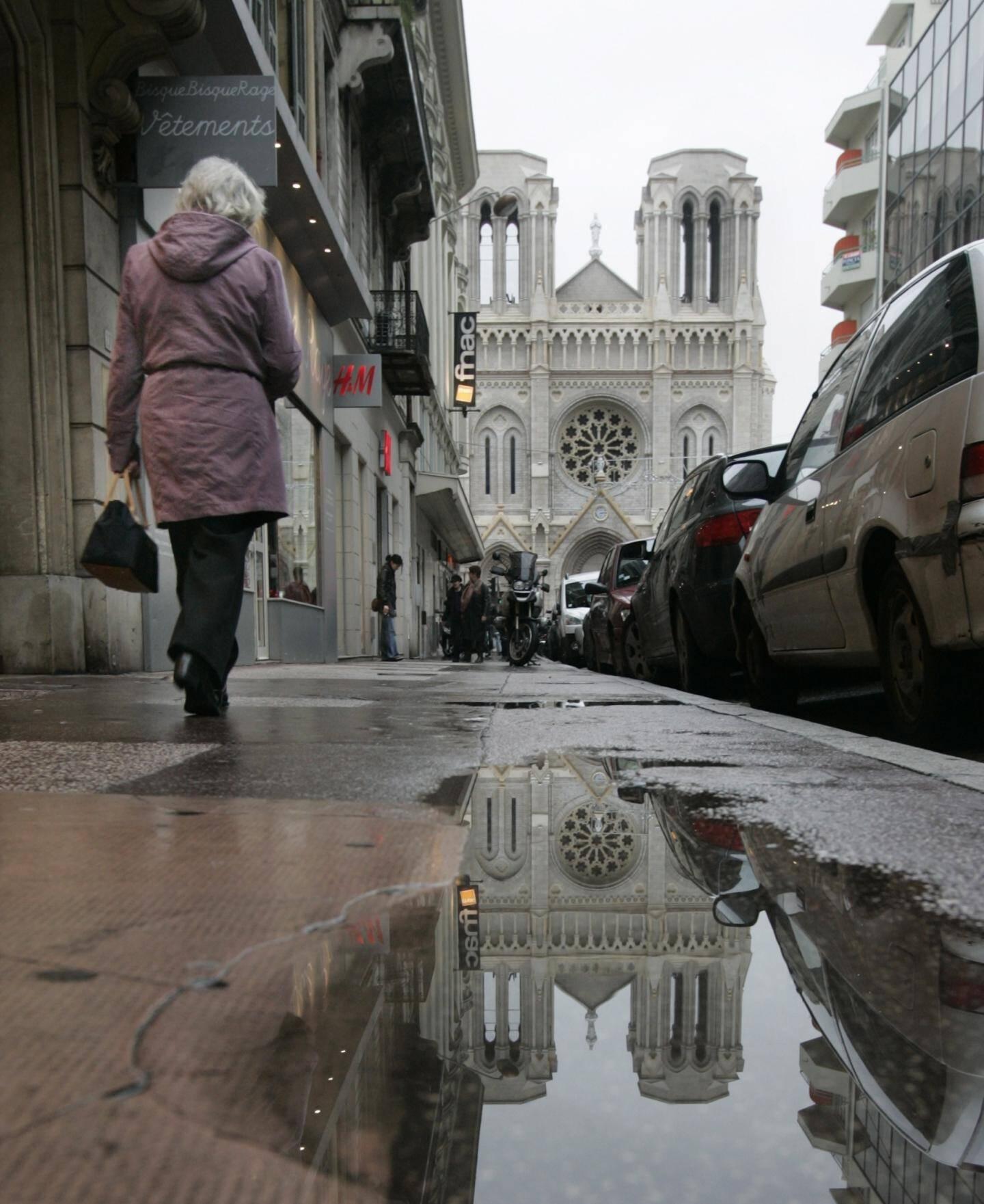 Avenue Notre-Dame à Nice.