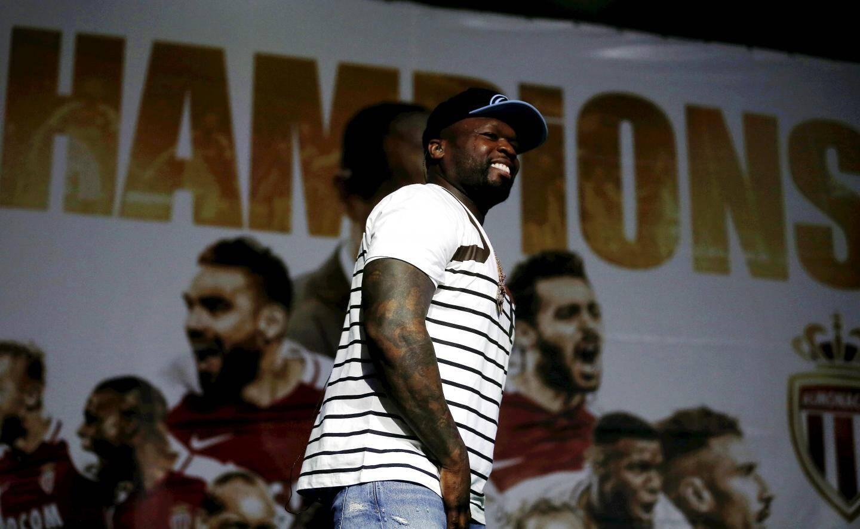 Le rappeur américain 50 Cent a donné un show d'une petite heure pour célébrer le titre dans le chapiteau de Fontvielle.