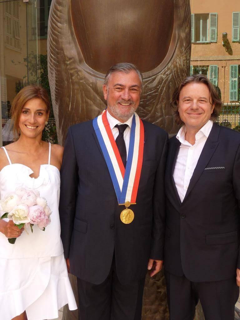 Myriam Kournaf, directeur général d'un groupe d'hôtels, et Bruno Lamber, producteur.