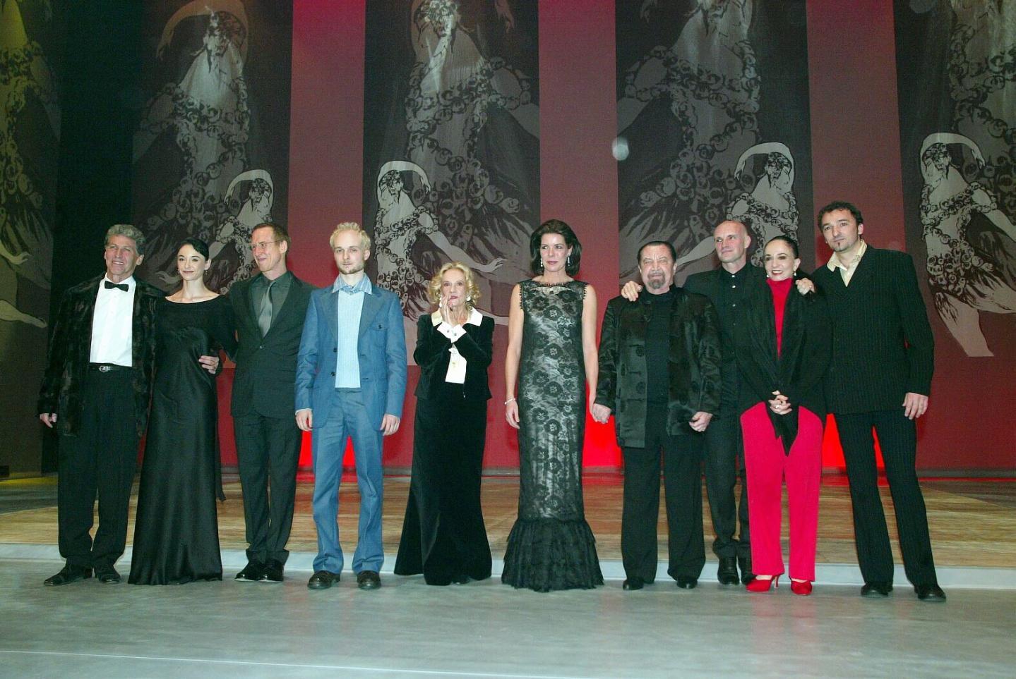 Remise des Nijinski Awards à Monaco