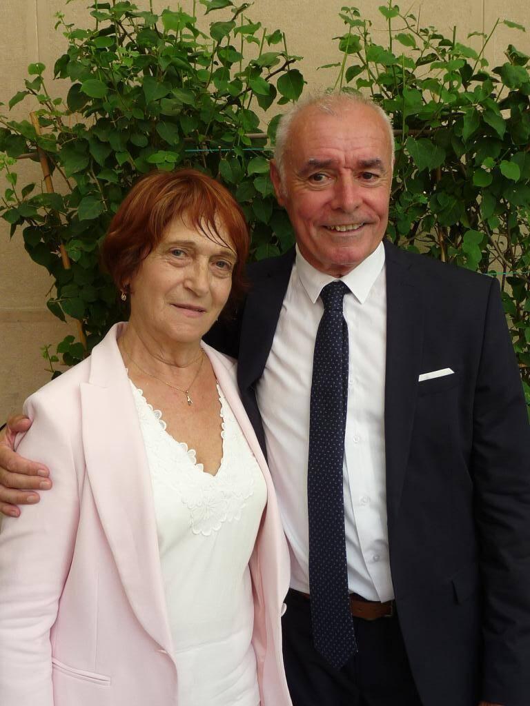 Annie Otto-Loyas, retraitée, et Daniel Le Deunff, expert-conseil à la mairie.
