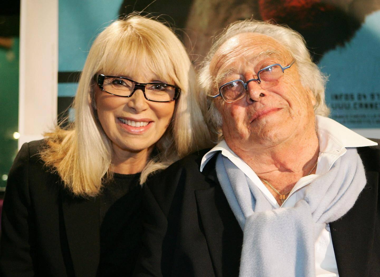 Avec Georges Lautner.
