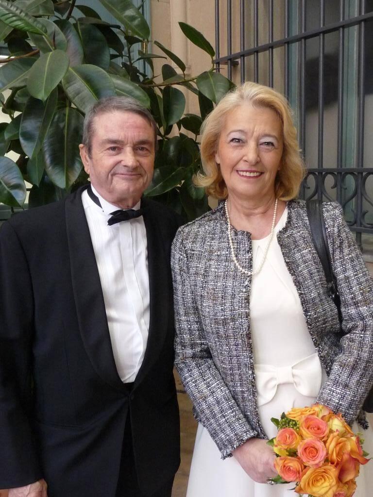 Jean Vise, militaire, et Véronique Leintzeinger, retraitée.