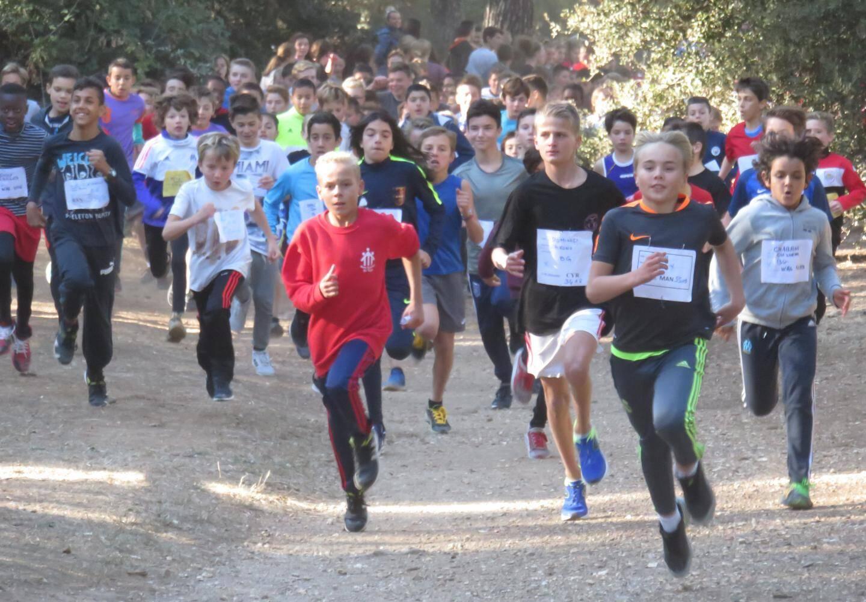 Le cross ouest-varois de l'union nationale du sport scolaire (UNSS) est toujours très couru.