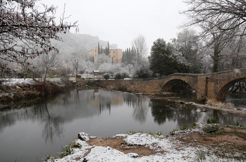 Une image digne d'un film au château de Vins-sur-Caramy.