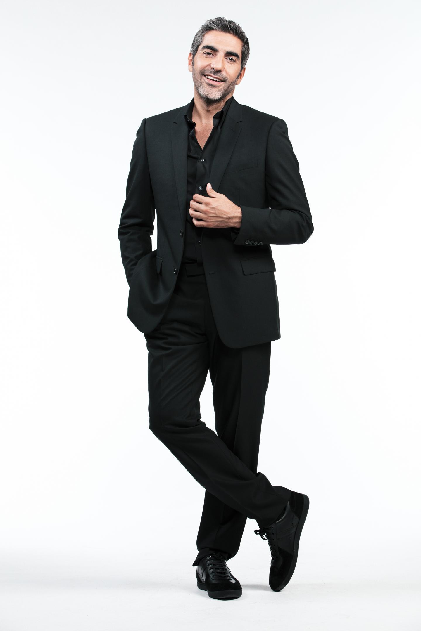 Ary Abittan, pour son nouveau one-man-show, attendu le 1er décembre.(DR)