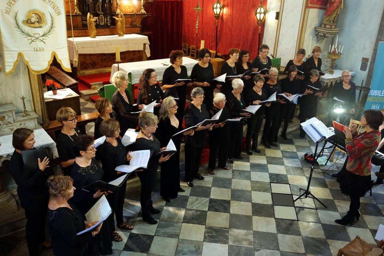 L'Ensemble vocal du Pays mentonnais et Quazylis en concert au profit de la recherche ophtalmologique