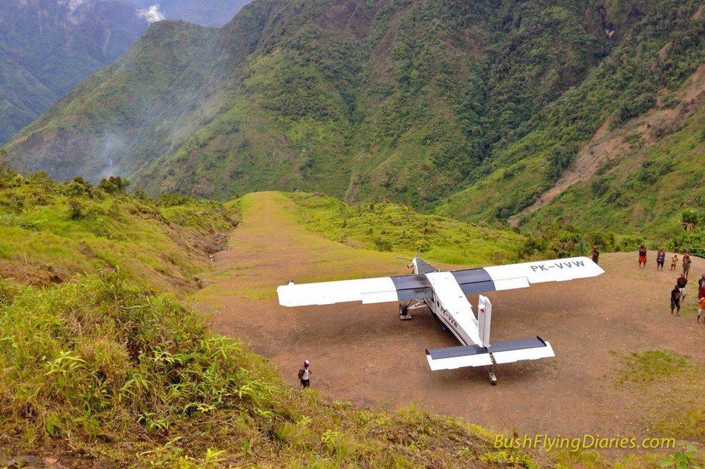 Le genre d'aéroport qu'on peut trouver en Papouasie.