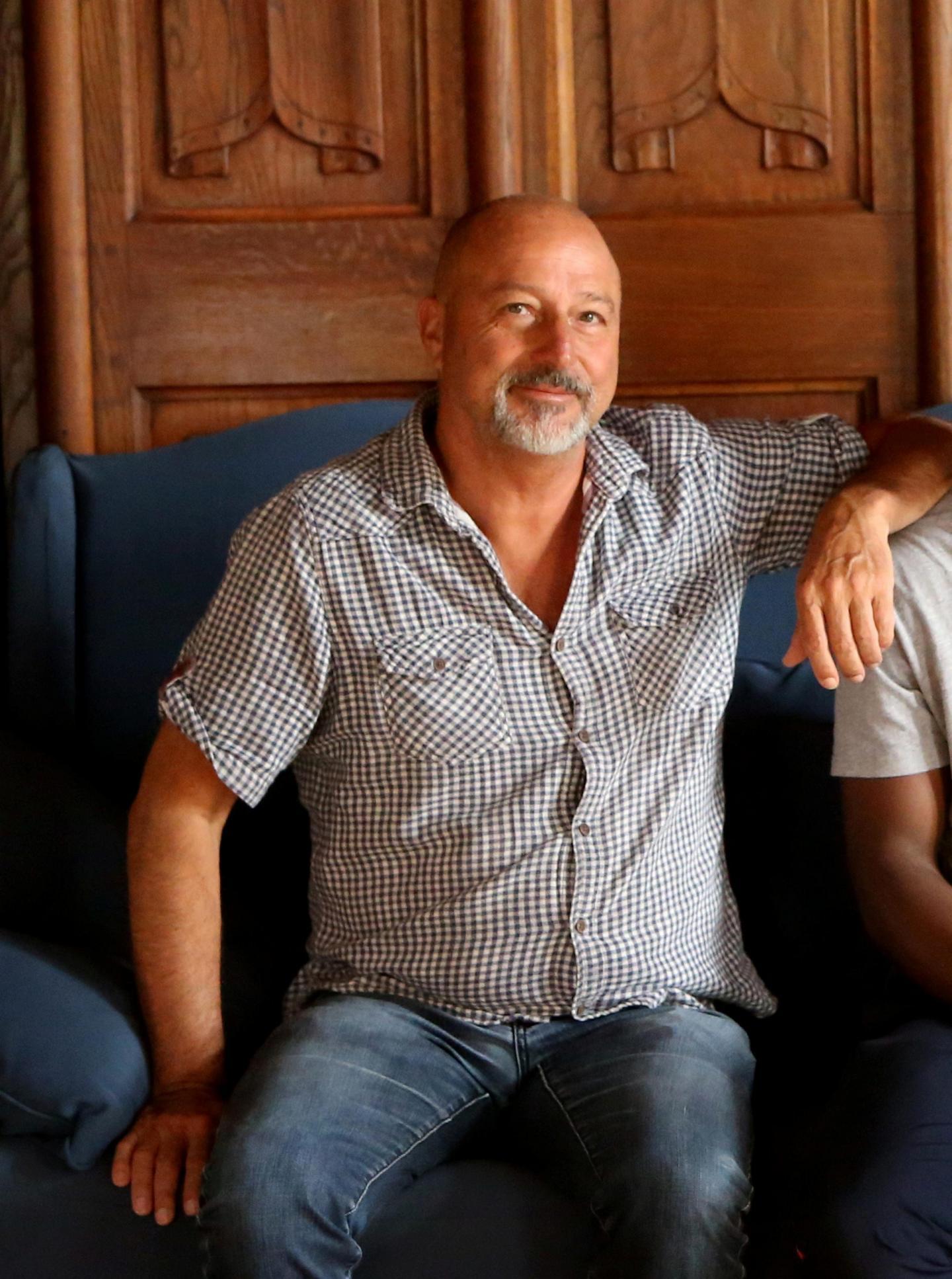 Pascal Guyot, metteur en scène de la pièce.