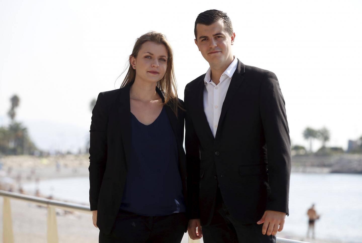 Lucie et Adrien.