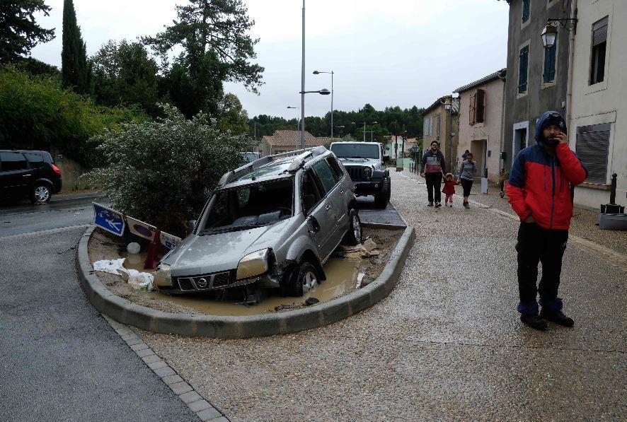 Dommages à Villegailhenc