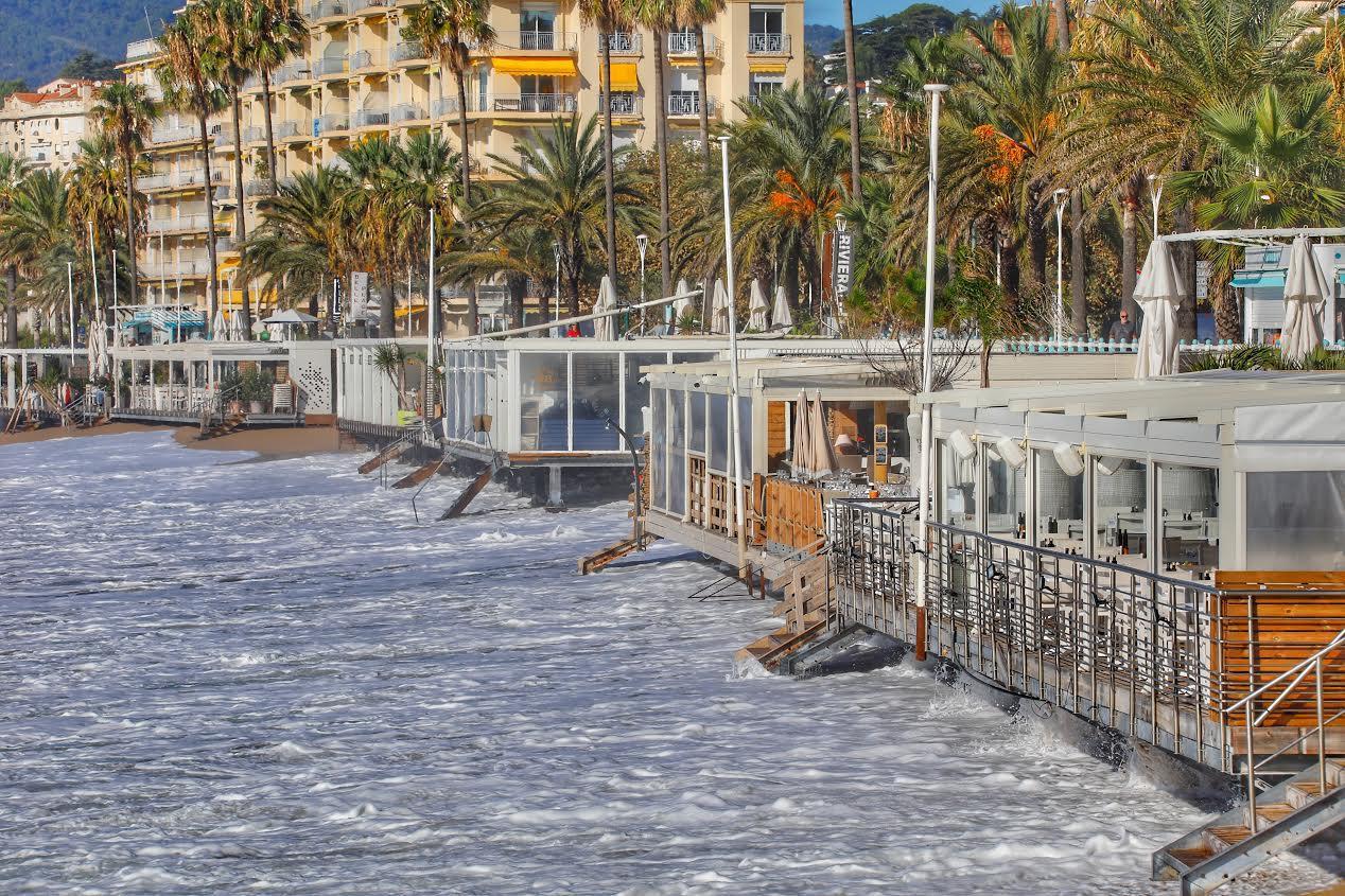 Le boulevard Jean-Hibert, à Cannes.