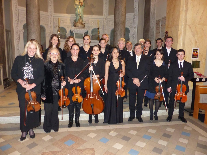 L'ensemble « Arco Musica » se produira dimanche en l'église du Sacré-Cœur de Menton. (DR)