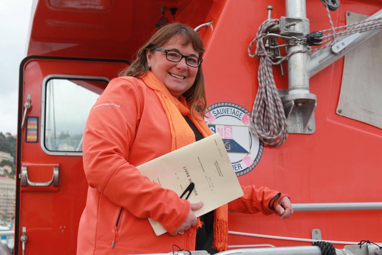 Karine Lachèvre est la nouvelle patronne de la SNSM à Menton.