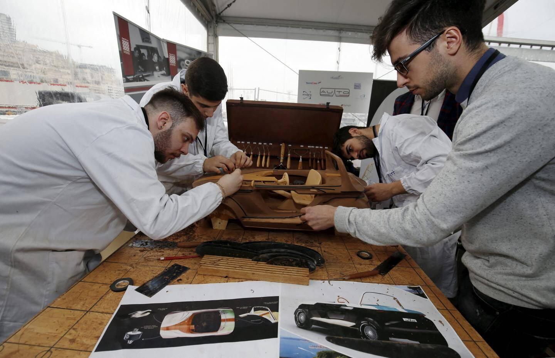 La mission de ces étudiants de l'école de design Albatech Monaco : inventer une hypercar en quatre jours.