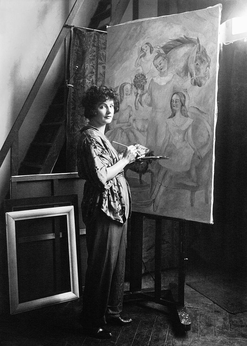 Irène Lagut, l'amie de Cocteau.