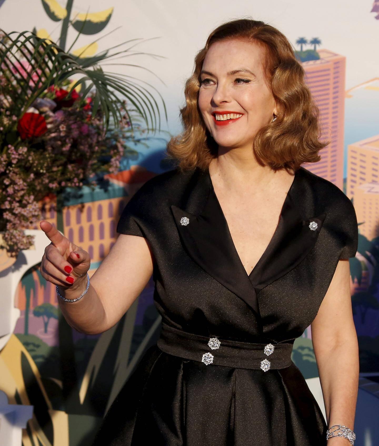 La comédienne Carole Bouquet, maman du producteur Dimitri Rassam.