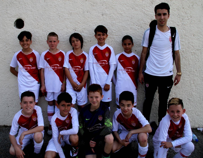 Les U11 de l'AS Monaco.