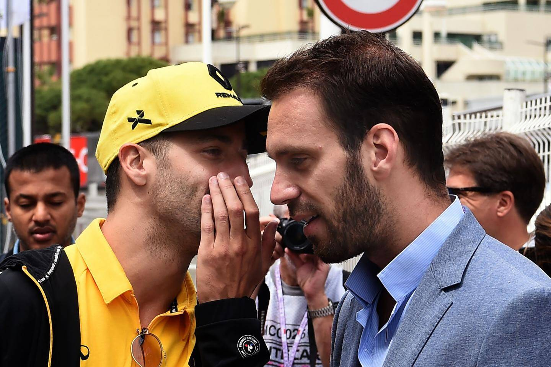 Daniel Ricciardo et Jean-Eric Vergne