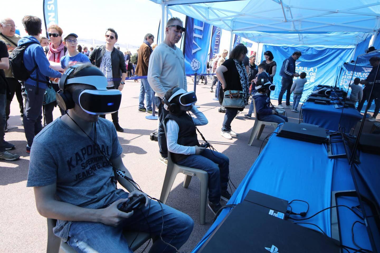 Les Niçois se sont essayés à la course de F1 en réalité virtuelle