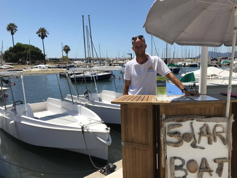 «Les clients viennent pour l'aspect écologique du bateau électrique», confie Nicolas Laurent.
