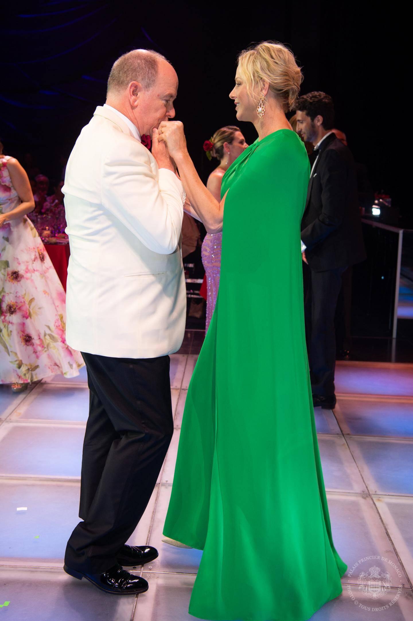 La princesse avait invité le groupe sud-africain Prime Circle, qui a rendu hommage à Johnny Clegg.
