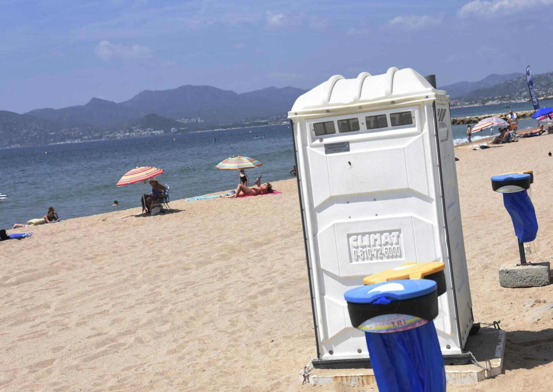 Une application permet de trouver des WCs publics.