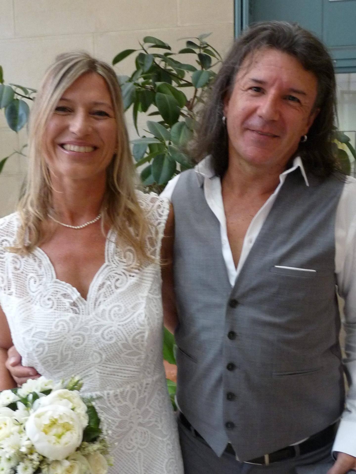 Hélène Dutour, ingénieure agronome, et Richard Ondini, architecte.