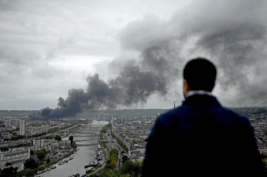 L'incendie de l'usine Lubrizol, le 26 septembre 2019