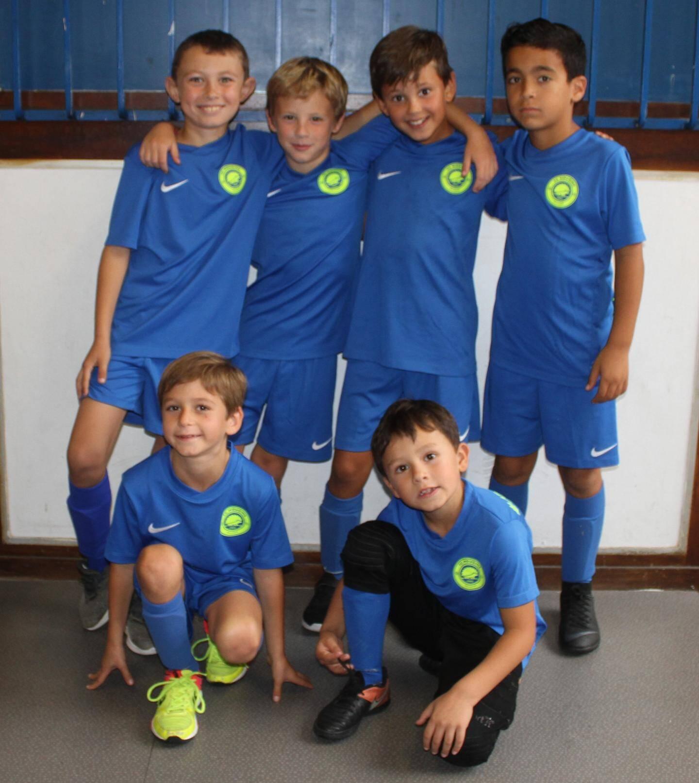Les U9 du FC Mougins.