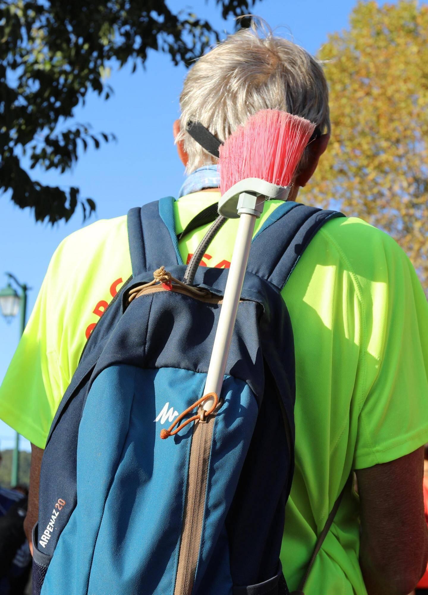 Une dizaine d'enfants a participé au petit format de La Campsoise : un parcours d'1,2 kilomètre dans les rues du village.